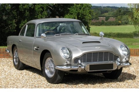 Original James Bond Aston Martin DB5 on sale for £3M complete with all gadgets and machine guns