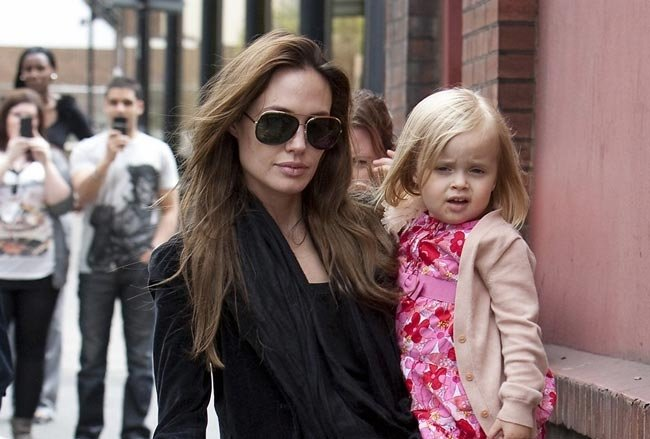 Vivienne Jolie-Pitt movie roll - Angelina's 4 year old daughter on $3k a week.